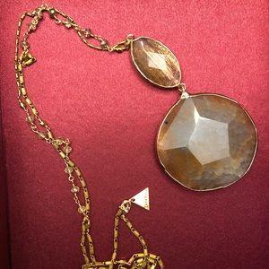 Anthropologie Serafina gold tone necklace